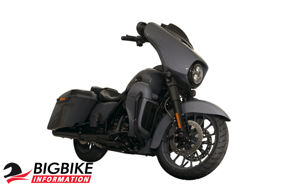 ภาพ Harley Davidson CVO STREET GLIDE สีเทา ด้านหน้า
