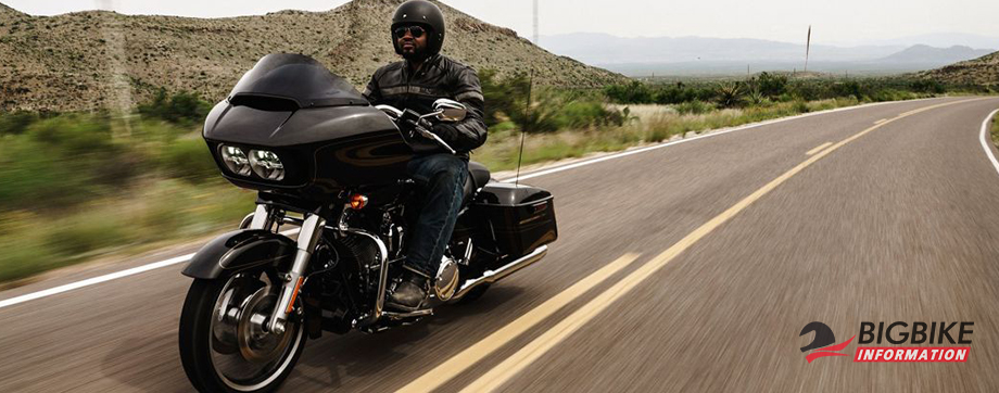 ภาพ HARLEY DAVIDSON TOURING ROAD GLIDE สีดำ