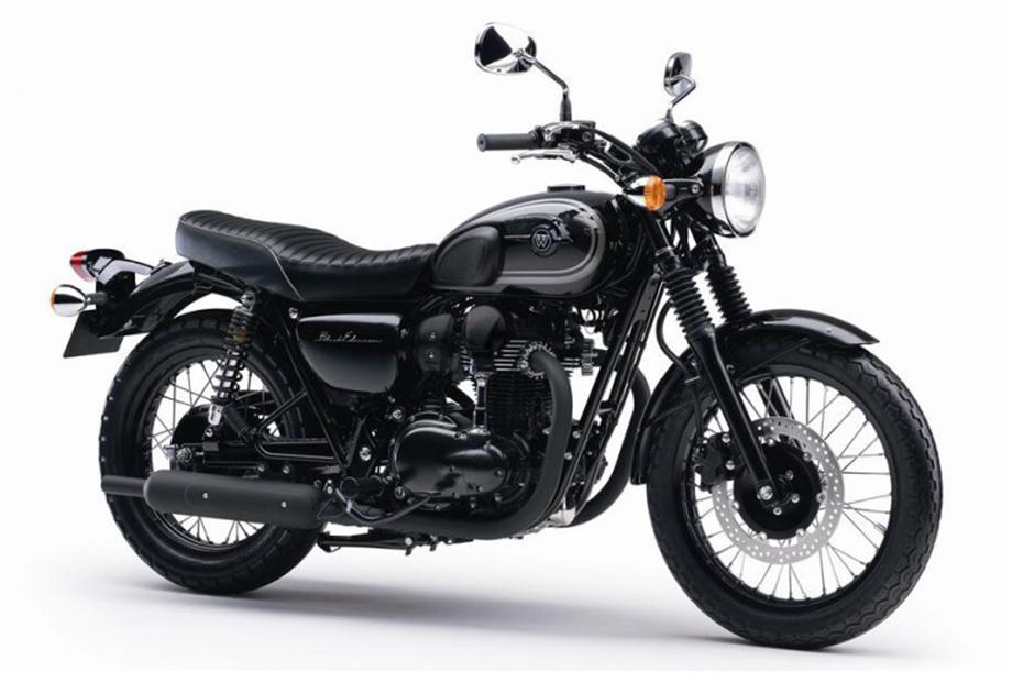ภาพ Kawasaki W800 Special Edition สีดำ