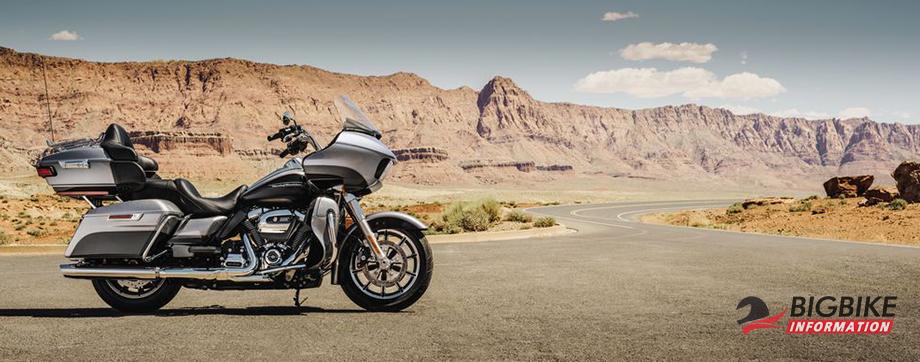 ภาพ Harley Davidson ROAD GLIDE ULTRA สีเงิน ด้านข้าง