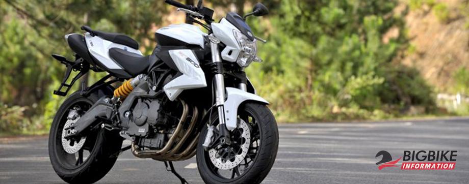 ภาพ Benelli TNT 600 สีขาว ด้านหน้า