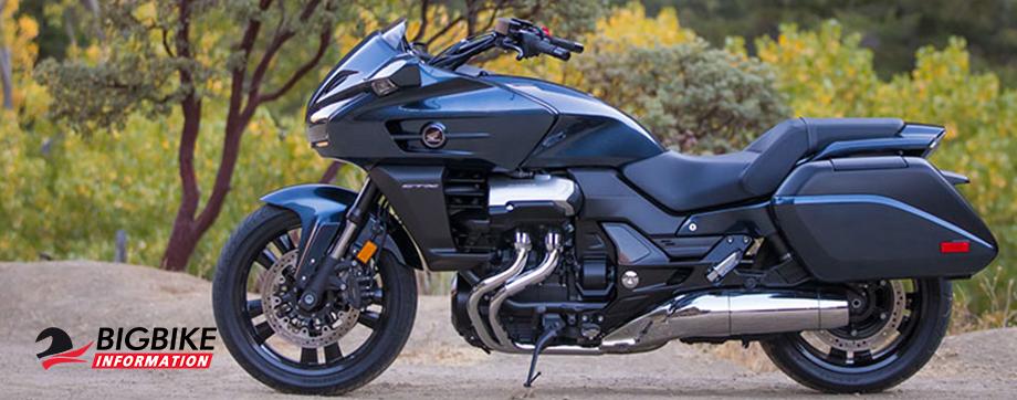 ภาพ Honda CTX1300 สีดำ