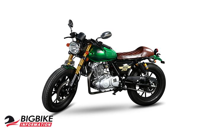 สตาเลียน เซ็นเทอร์ แม็กซ์ 250 สีเขียว