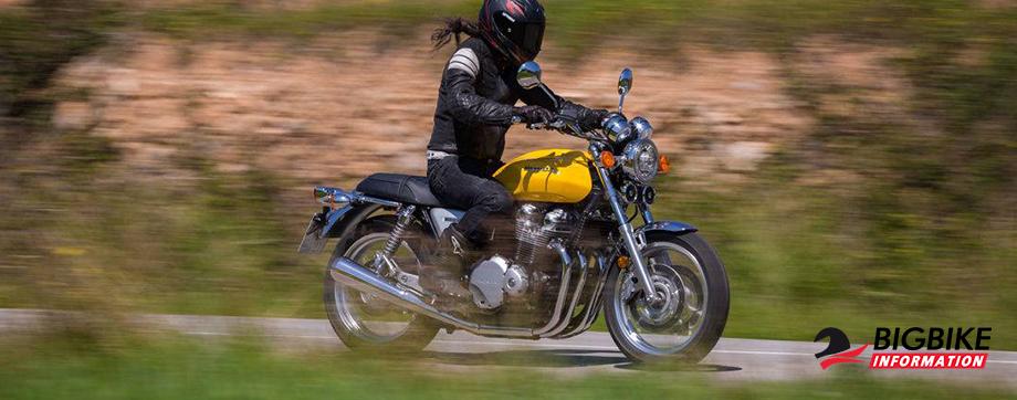 ภาพ Honda CB1100EX สีเหลือง