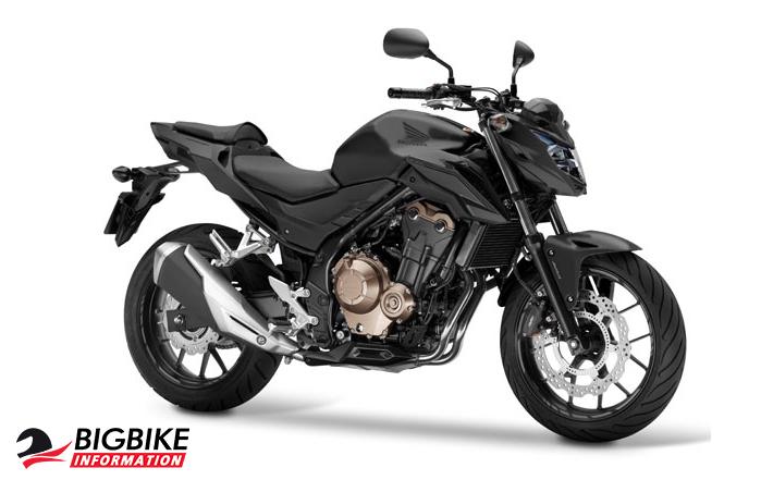 ภาพ Honda CB500F สีดำ