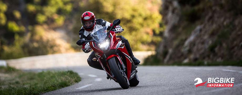 ภาพ Honda CBR650F สีแดง