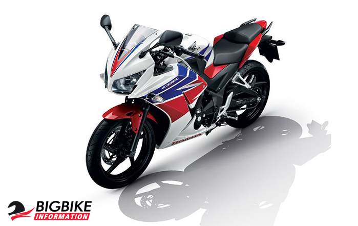 ภาพ Honda CB150R สีขาว-แดง