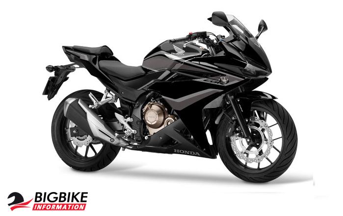 ภาพ Honda CBR500R สีดำ