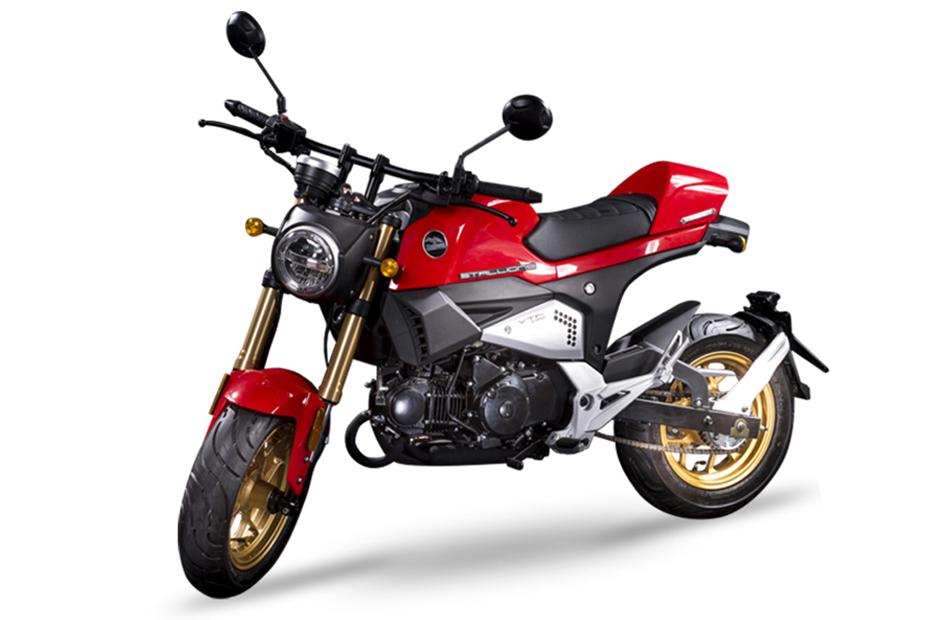 Stallion VTR125 สีแดง