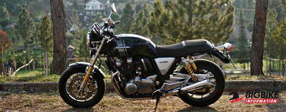 ภาพ Honda CB1100RS สีดำ ด้านข้าง