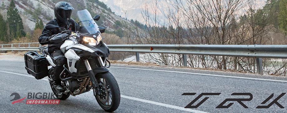 ภาพ Benelli TRK 502 สีขาว ด้านหน้า