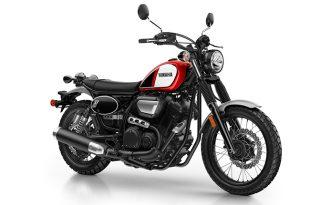 Yamaha SCR950 สีแดง-ดำ
