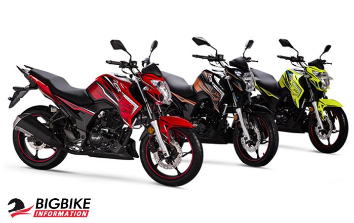 ภาพ GPX CR5 EFI สีแดง สีดำ สีเขียว ด้านหน้า