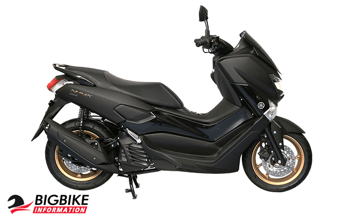 ยามาฮ่า เอ็นแม็กซ์ 155 สีดำ