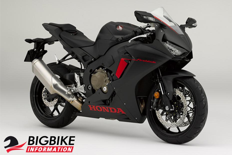 ภาพ Honda CBR1000RR สีดำ