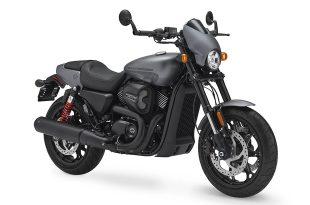 ภาพ Harley Davidson Street Rod สีเทา