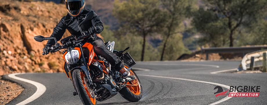ภาพ KTM Duke 390 สีส้ม