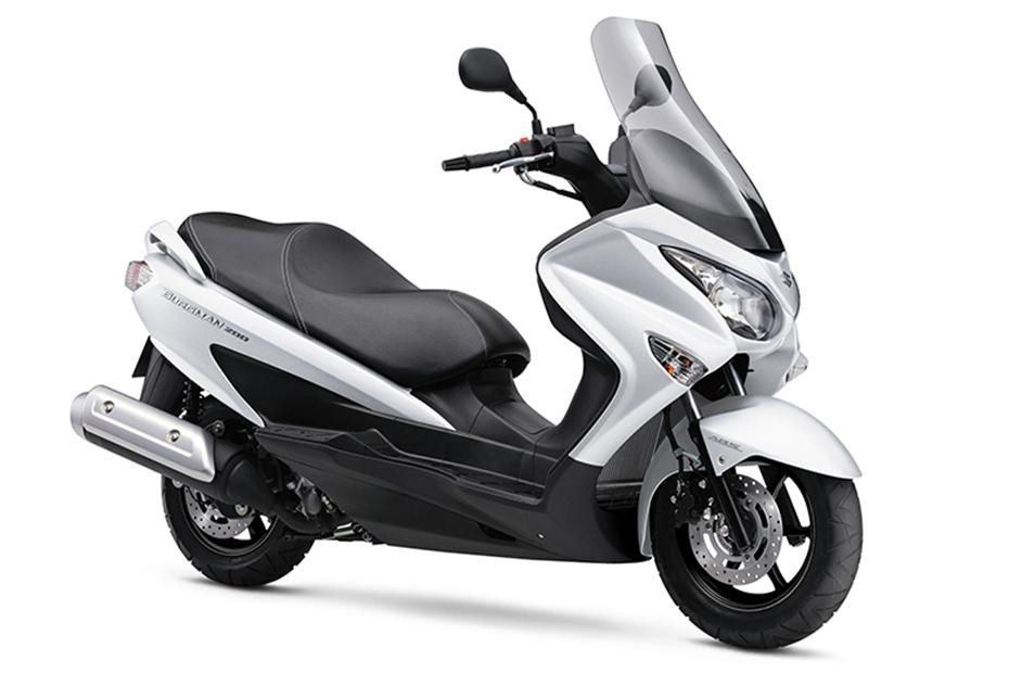 Suzuki Burgman 200 ABS สีขาว