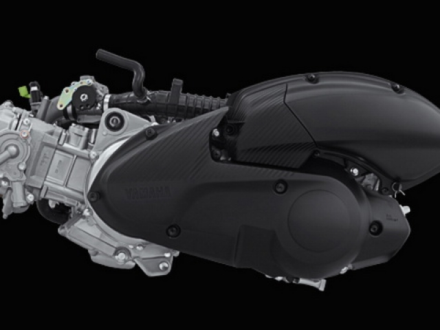 เครื่องยนต์ 4 จังหวะ สูบเดี่ยว SOHC 4 วาล์ว ระบายความร้อนด้วยน้ำ พร้อมเทคโนโลยีวาล์วแปรผัน (VVA) ปริมาตรกระบอกสูบ 155 ซีซี
