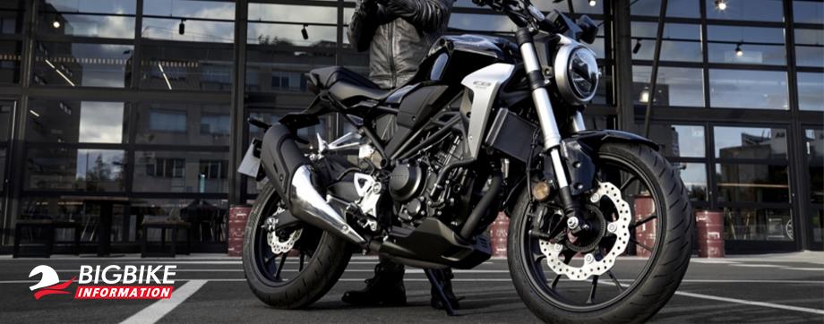 ภาพ Honda CB300R สีดำ
