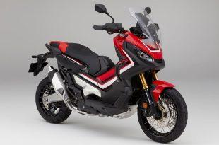 ภาพ Honda X-ADV สีแดง