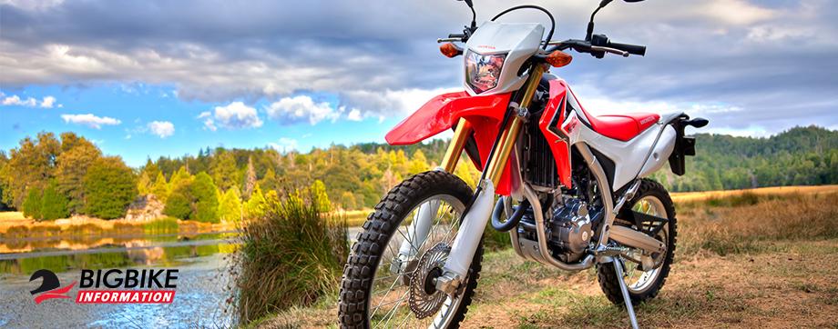 ภาพ Honda CRF250L สีแดง