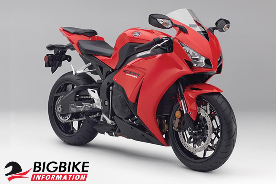ภาพ Honda CBR1000RR สีแดง