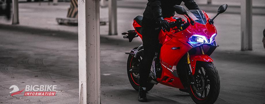 ภาพ GPX DEMON 150GR สีแดง