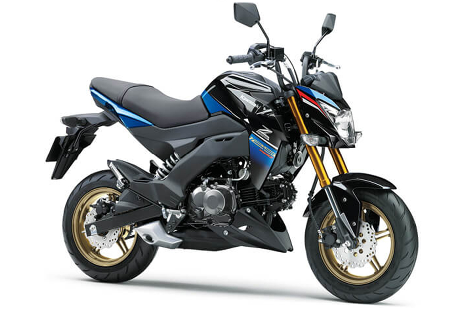 ภาพ Kawasaki Z125 Pro SE สีน้ำเงิน