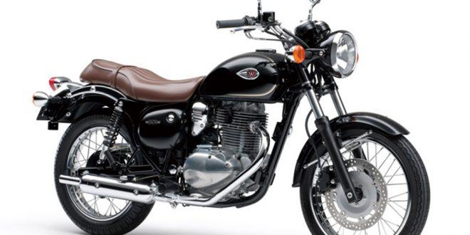 ภาพ Kawasaki W250 สีดำ