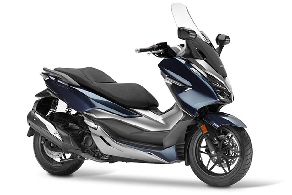 ภาพ Honda Forza 300 สีน้ำเงิน