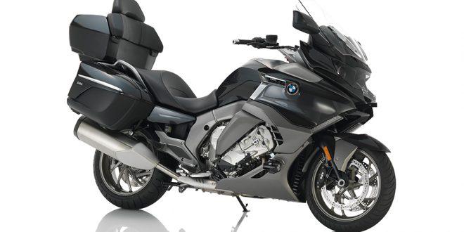 ภาพ BMW K 1600 GTL สีดำ ด้านข้าง