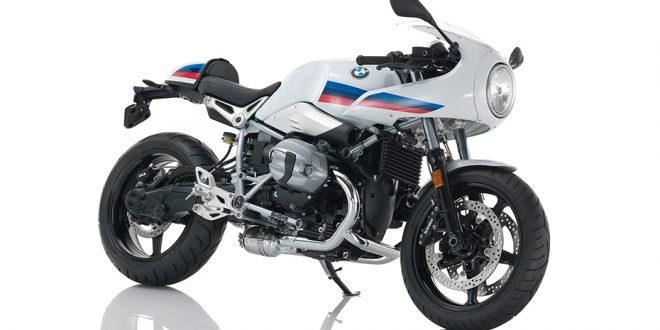 ภาพ BMW R NINE T RACER สีขาว ด้านหน้า