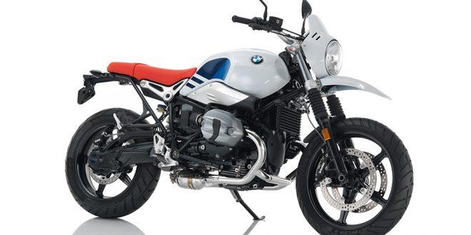 ภาพ BMW R NINE T URBAN G/S สีขาว ด้านข้าง