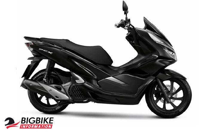 ภาพ Honda PCX 150 สีดำ ด้านข้าง