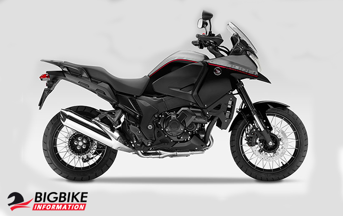 ภาพ Honda VFR1200X สีเทา-ดำ ด้านข้าง