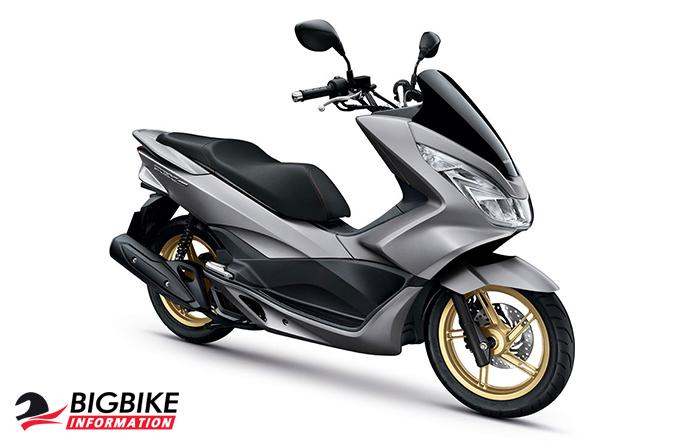ภาพ Honda PCX 150 สีเทา