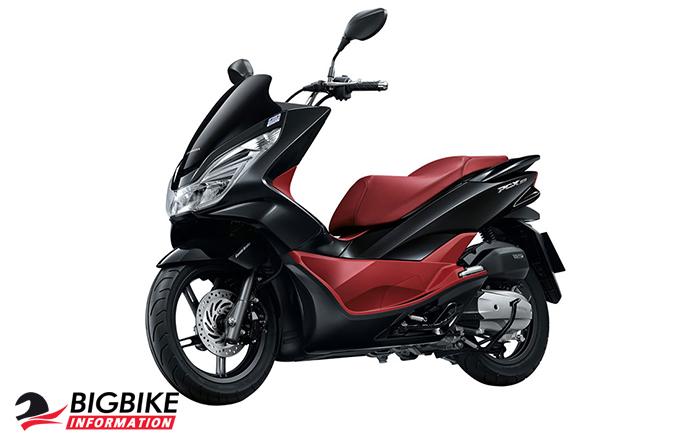 ภาพ Honda PCX 150 สีดำ-แดง