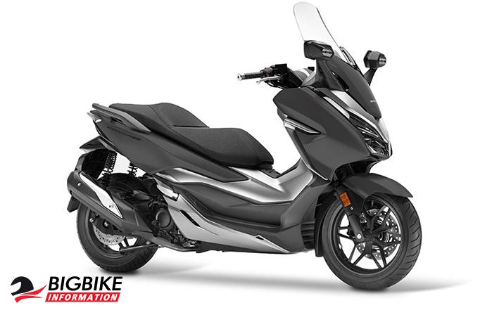 ภาพ Honda Forza 300 สีเทาด้าน