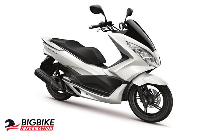 ภาพ Honda PCX 150 สีขาว
