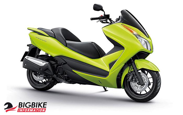ภาพ Honda Forza 300 สีเขียวมะนาว
