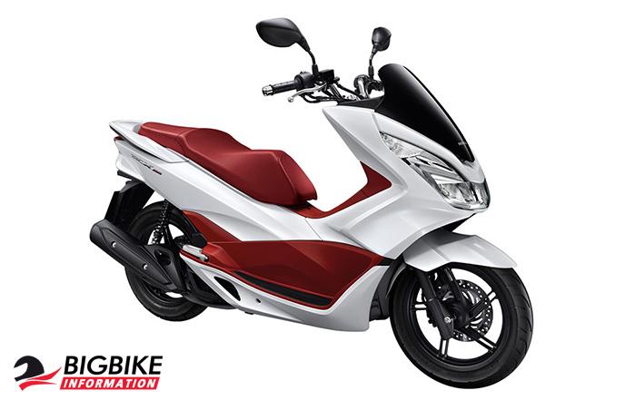 ภาพ Honda PCX 150 สีขาว-แดง