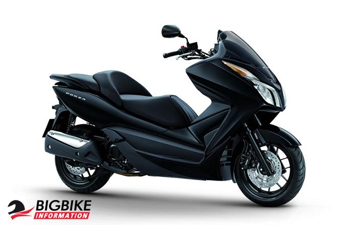 ภาพ Honda Forza 300 สีดำ 2013