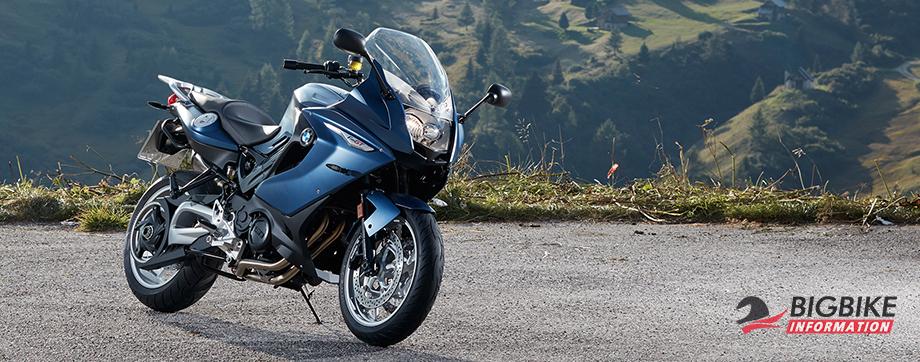 ภาพ BMW F 800 GT สีน้ำเงิน ด้านหน้า