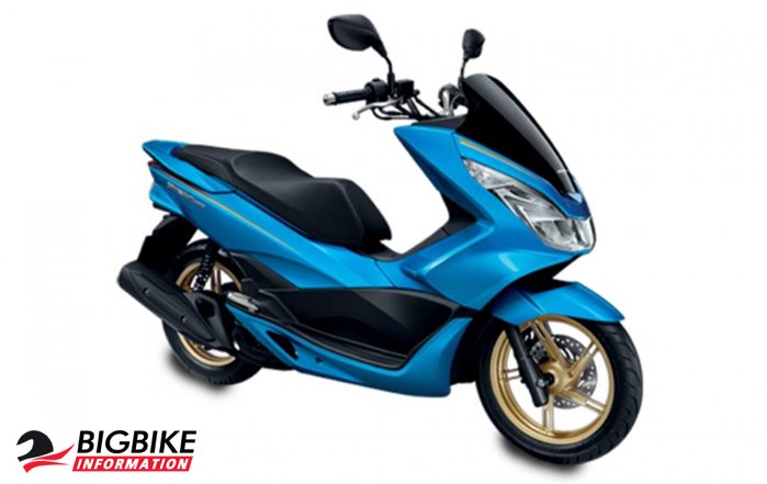 ภาพ Honda PCX 150 สีน้ำเงิน