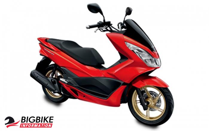 ภาพ Honda PCX 150 สีแดง