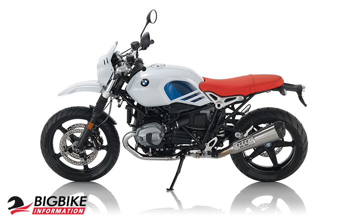 ภาพ BMW R NINE T URBAN G/S สี Light White ด้านข้าง