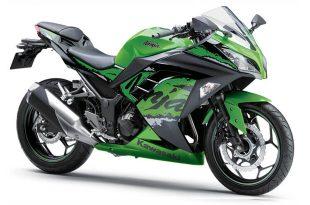 Kawasaki Ninja 300 ABS สีเขียว