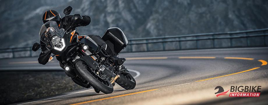 ภาพ KTM 1090 Adventure สีดำ