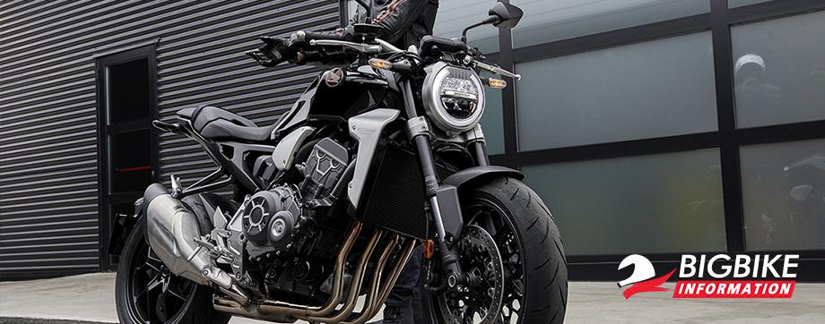 ภาพ Honda CB1000R สีดำ